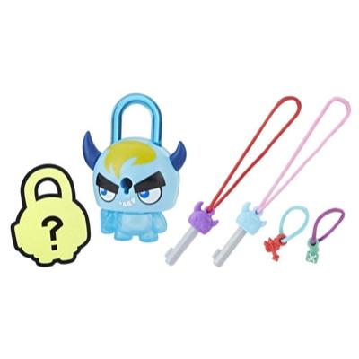 Lock Stars Basic Assortment Blue Horned Monster–Series 1 (Product may vary)