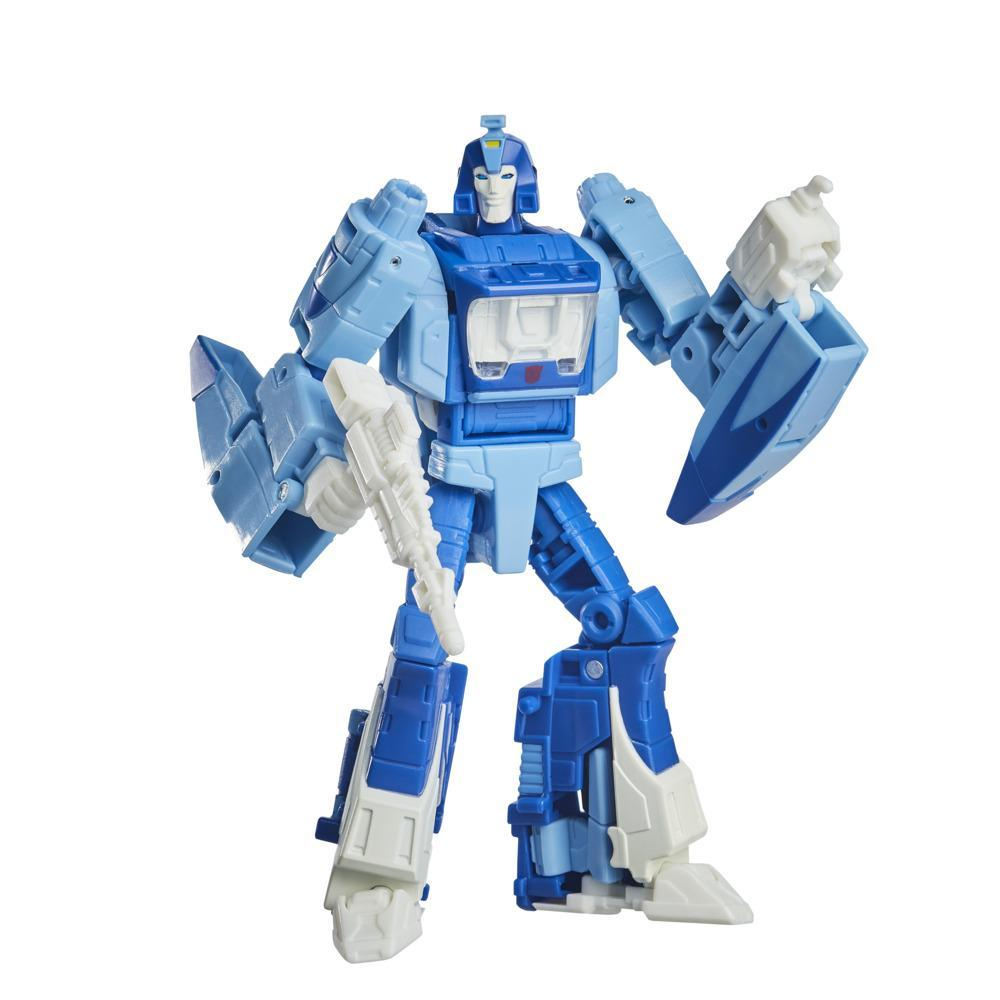 Transformers Toys Studio Series 86-03 Deluxe The Transformers: The Movie Blurr Action Figure, 8 and Up, 4.5-inch