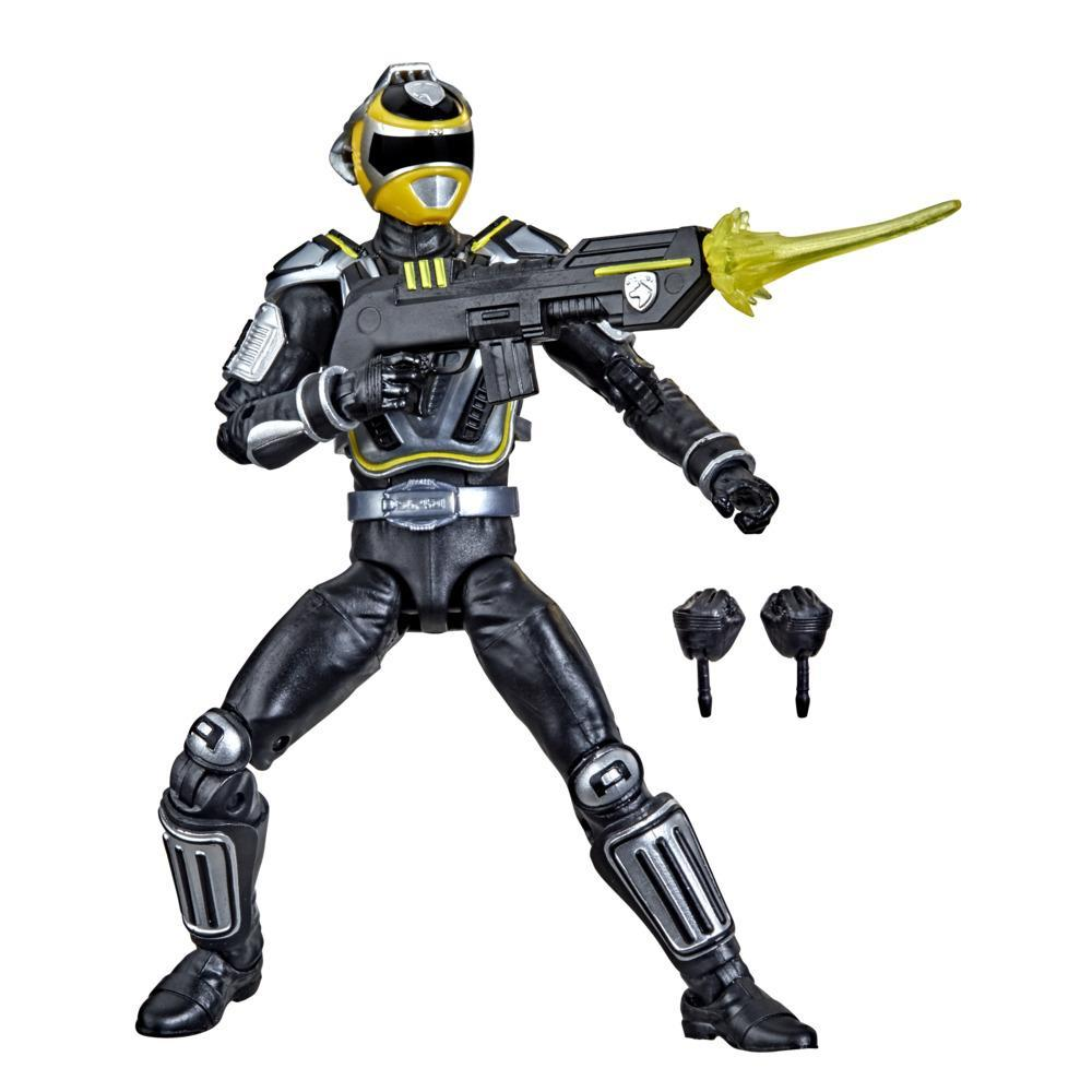Power Rangers Lightning Collection S.P.D. A-Squad Yellow Ranger 6-Inch Premium Collectible Action Figure Toy