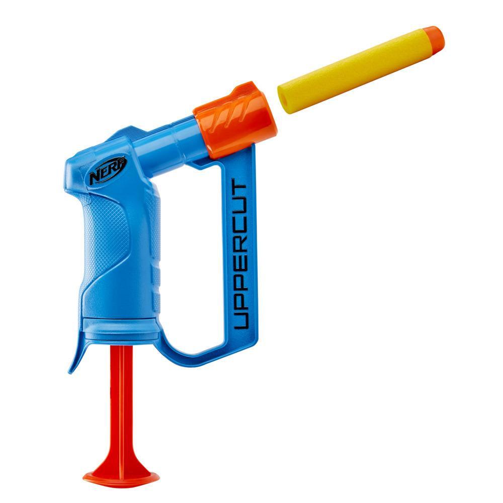 Nerf Alpha Strike Uppercut Blaster -- Includes 1 Official Nerf Elite Dart -- For Kids, Teens, Adults -- Blue