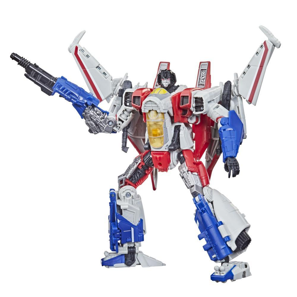 Transformers Toys Studio Series 72 Voyager Transformers: Bumblebee Starscream Action Figure - 8 and Up, 6.5-inch