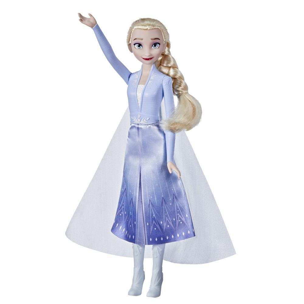 Disney's Frozen 2 Elsa Frozen Shimmer Fashion Doll, Skirt, Shoes, and Long Blonde Hair, Toy for Kids 3 Years Old and Up