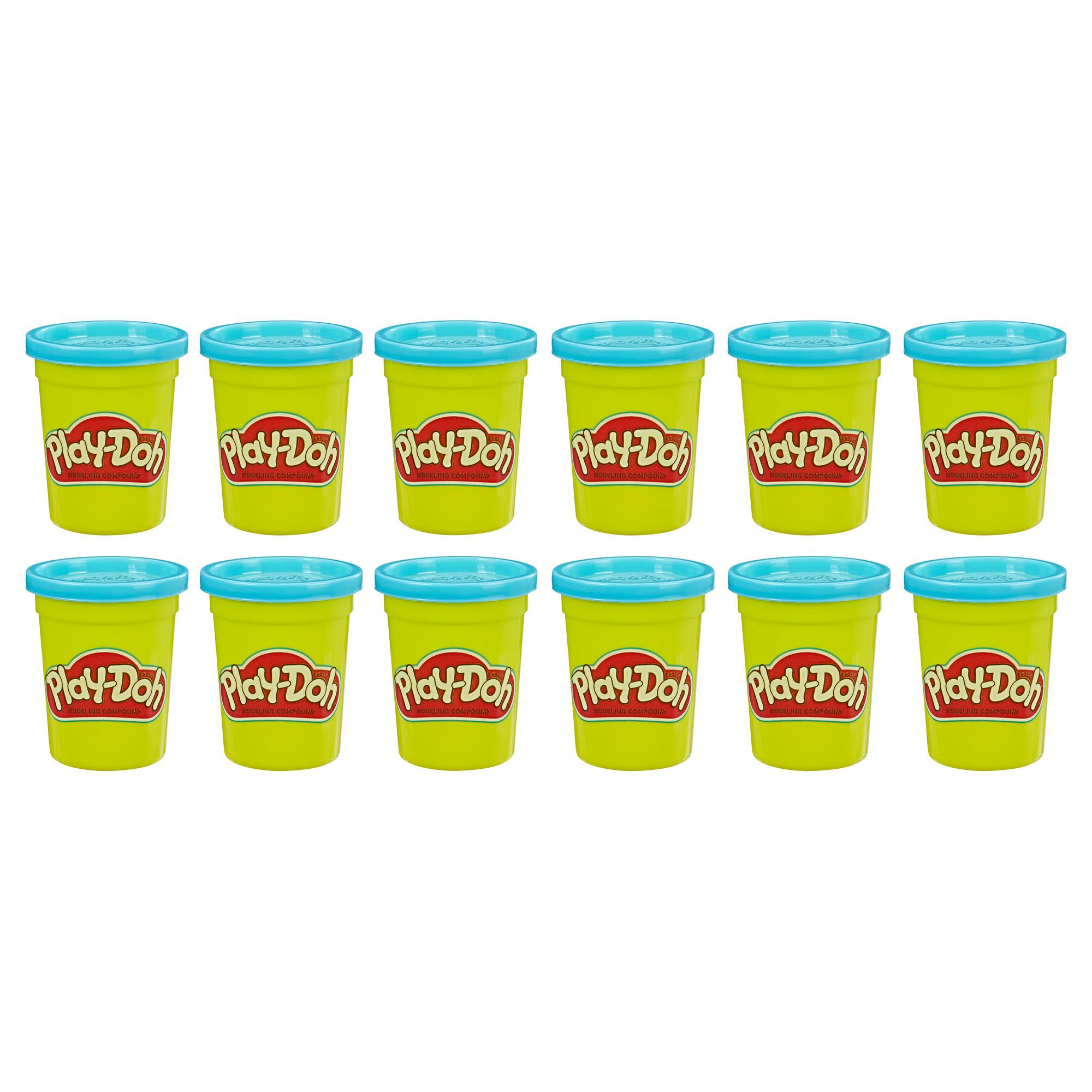 Play-Doh Bulk 12-Pack of Blue Non-Toxic Modeling Compound, 4-Ounce Cans