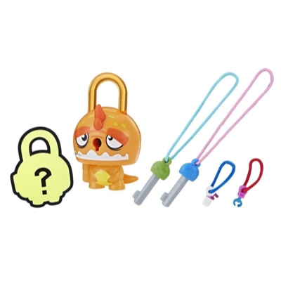 Lock Stars Basic Assortment Orange Dinosaur–Series 1 (Product may vary)
