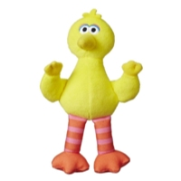 Playskool Friends Sesame Street Bean Bag Buddies Big Bird Plush