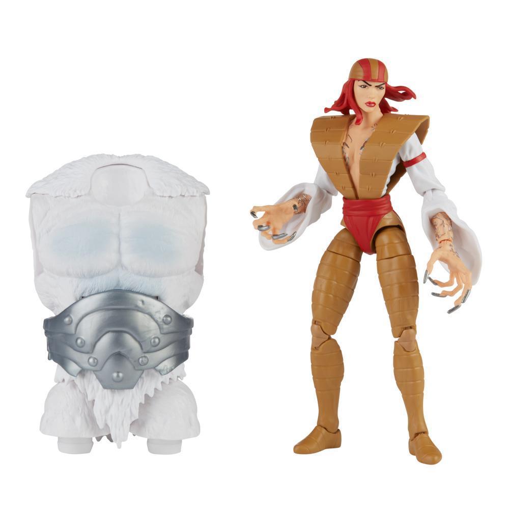 Hasbro Marvel Legends Series 6-inch Collectible Action Lady Deathstrike Figure, Includes 1 Build-A-Figure Part(s), Premium Design