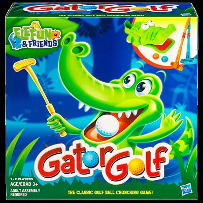 ELEFUN & FRIENDS GATOR GOLF Game