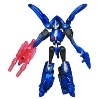 TRANSFORMERS PRIME CYBERVERSE COMMAND YOUR WORLD Legion Class ARCEE Stealth Fighter Figure