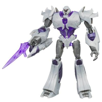 TRANSFORMERS PRIME CYBERVERSE COMMAND YOUR WORLD Commander Class Series 2 MEGATRON Figure