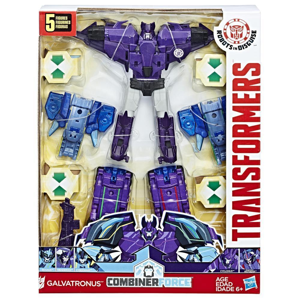 Transformers: Robots in Disguise Combiner Force Team Combiner Galvatronus