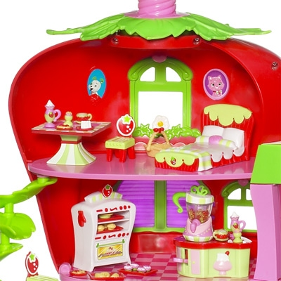 STRAWBERRY SHORTCAKE - STRAWBERRY SHORTCAKE'S BERRY CAFÉ