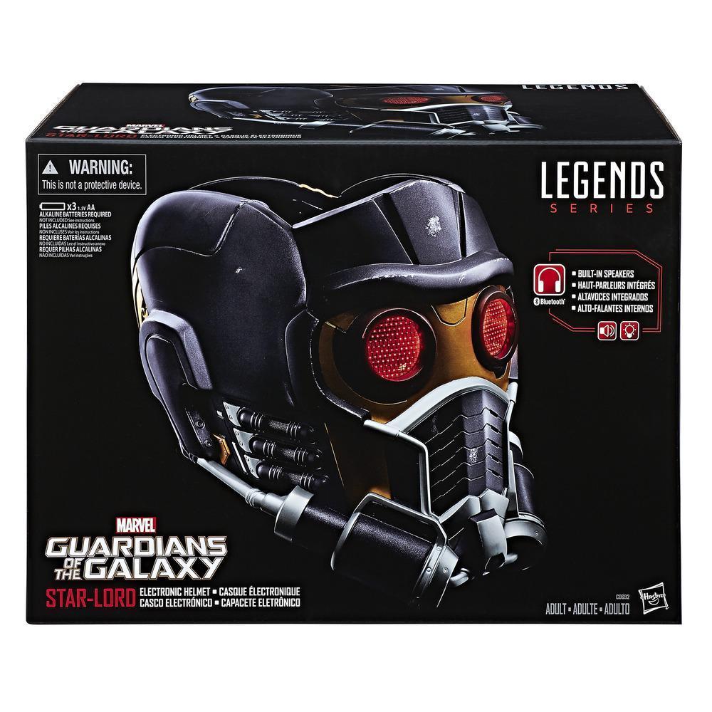 Bien-aimé Marvel Legends Series Star-Lord Electronic Helmet | Marvel YY39