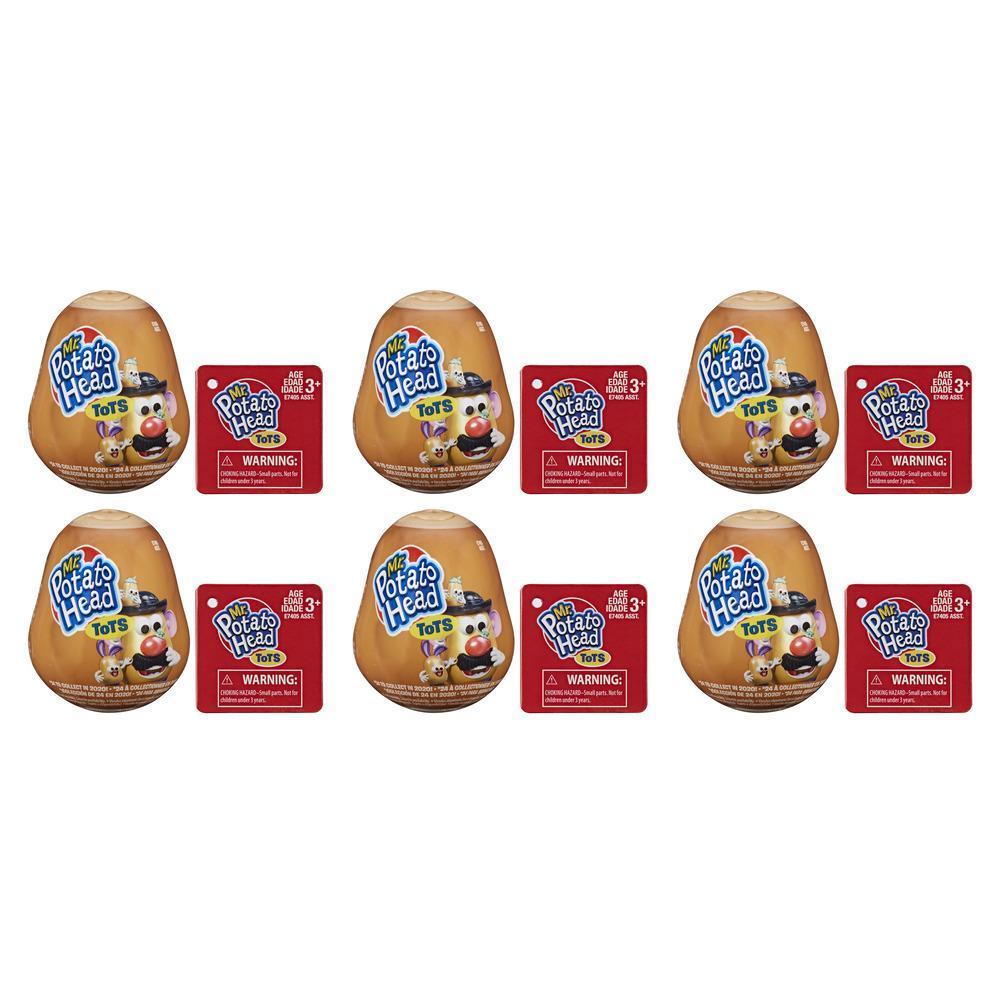Mr. Potato Head Tots; 6 Mini Collectible Figures