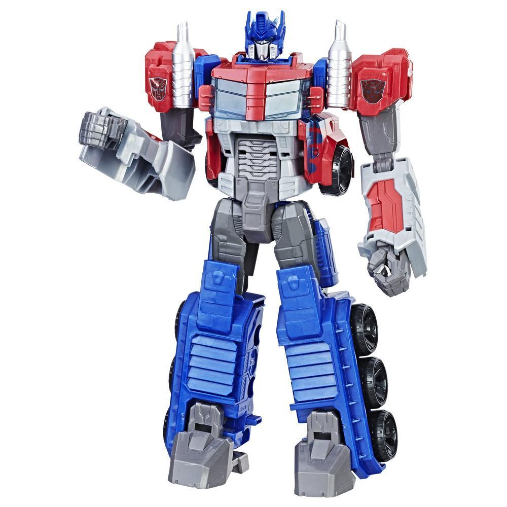 Transformers Toys Heroic Optimus Prime Action Figure - Timeless Large-Scale Figure