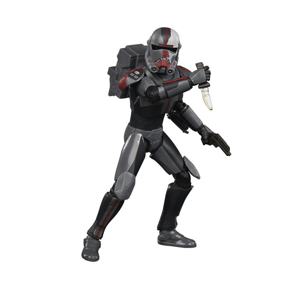 Star Wars The Black Series Bad Batch Hunter 6-Inch-Scale Star Wars: The Clone Wars Action Figure, For Kids Ages 4 and Up