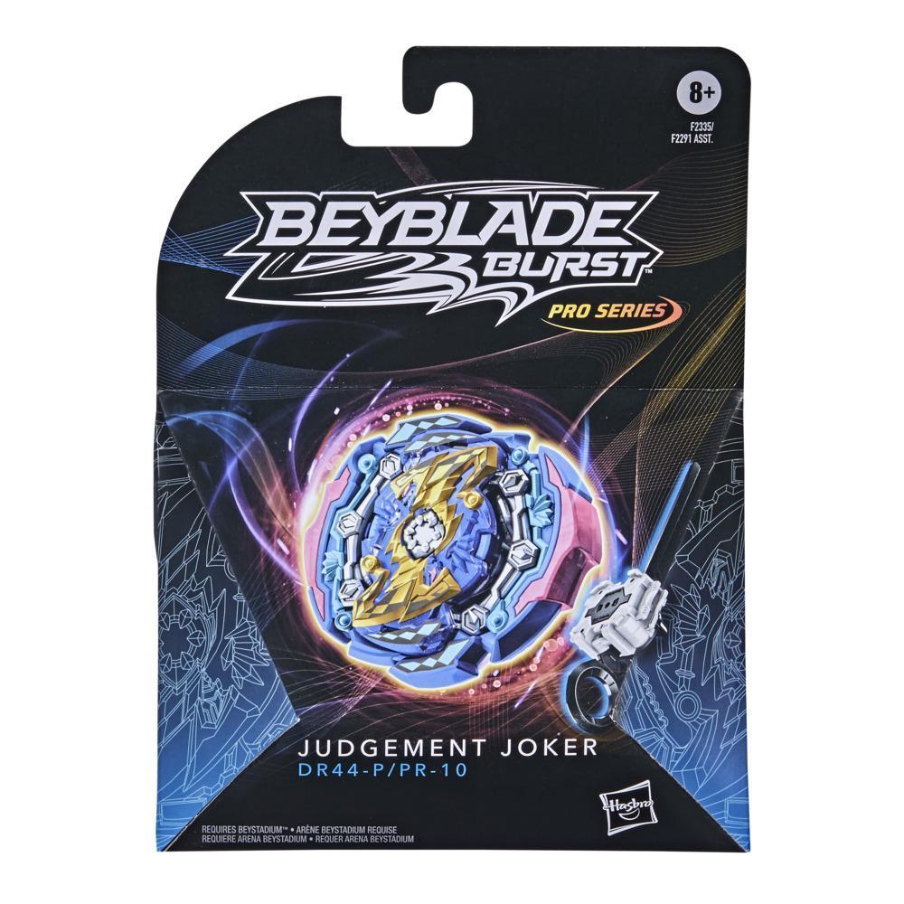 Beyblade Burst Pro Series Judgement Joker Spinning Top Starter Pack -- Battling Game Top with Launcher Toy