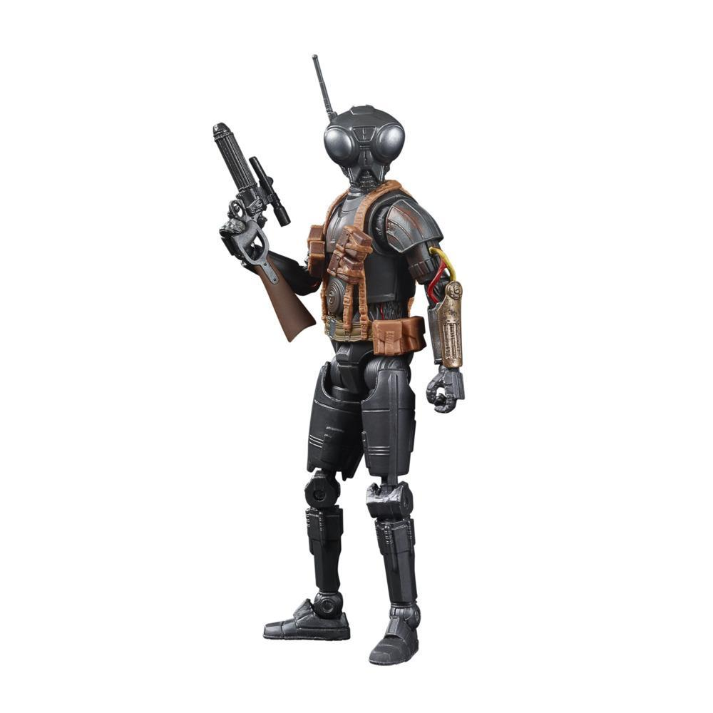 Star Wars The Black Series Q9-0 (ZERO) Toy 6-Inch-Scale The Mandalorian Collectible Figure, Toys for Kids Ages 4 and Up