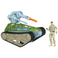 G.I. JOE RETALIATION TREAD RIPPER TANK Vehicle With Missile-Launching Cannon