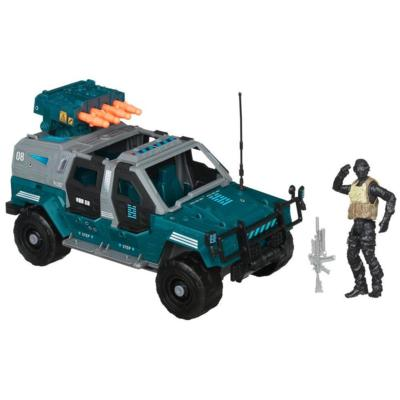 G.I. JOE RETALIATION NINJA COMBAT CRUISER Vehicle with NIGHT FOX Figure