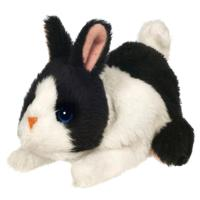 FURREAL FRIENDS - SNUGGIMALS (Black and White Bunny)