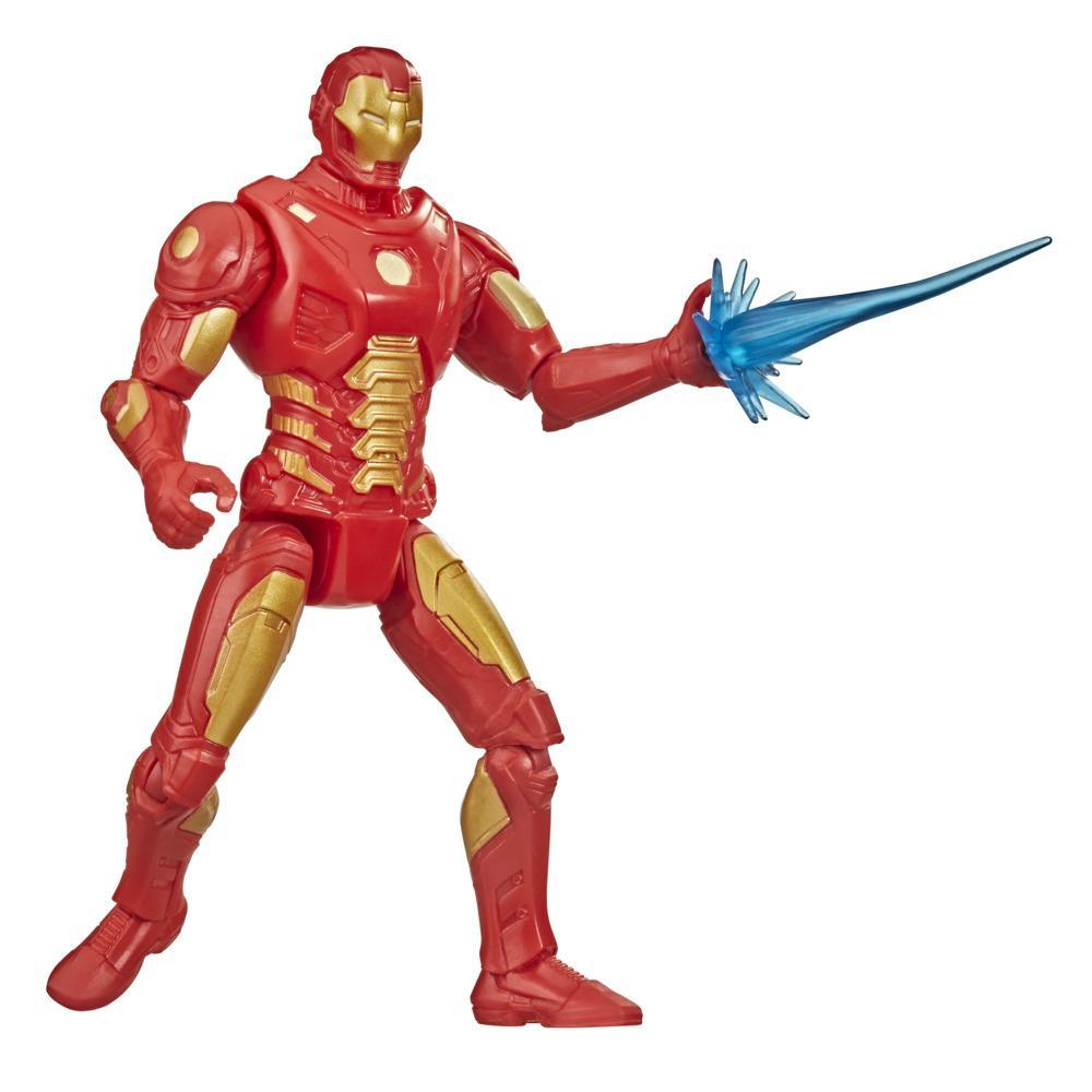Hasbro Marvel Gamerverse 6-inch Action Figure Toy Iron Man Overclock Video Game-Inspired, Ages 4 And Up