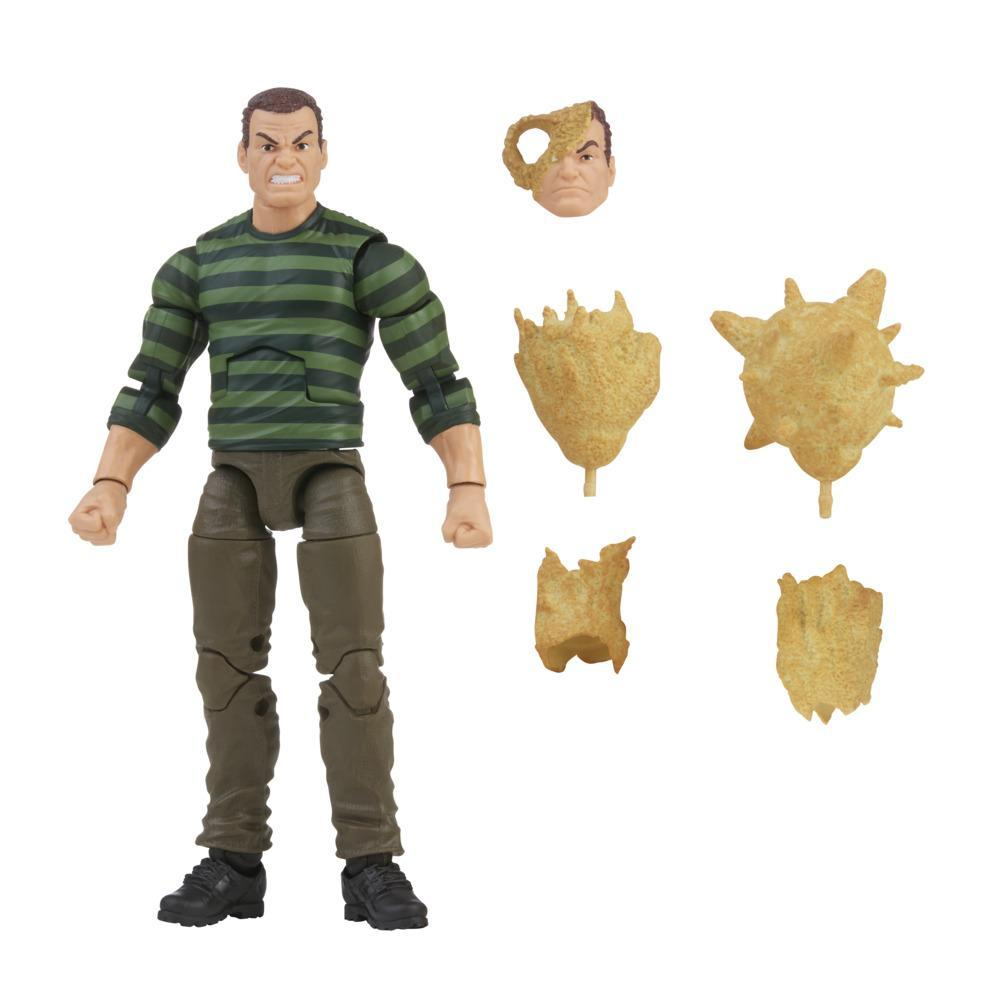 Hasbro Marvel Legends Series 6-inch Scale Action Figure Toy Marvel's Sandman, Includes Premium Design, and 1 Accessory