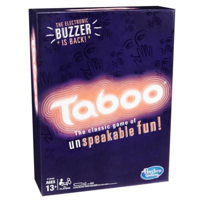 Taboo Game w/ Buzzer