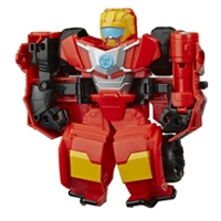 Transformers Rescue Bots Academy Hot Shot, 6-Inch Collectible Action Figure, Converting Robot Toy for Kids Ages 3 and Up