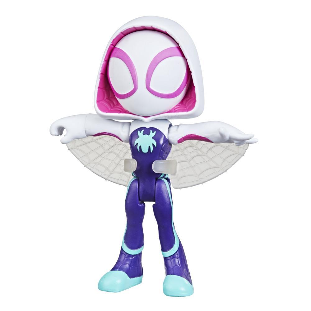 Marvel Spidey and His Amazing Friends Ghost-Spider Hero Figure, 4-Inch Scale Action Figure And 1 Accessory, For Kids Ages 3 And Up