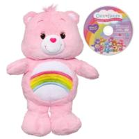 Care Bears Cheer Bear Plush and DVD