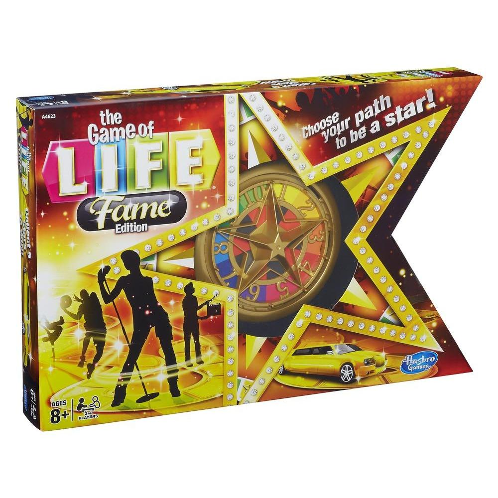 Life Game Pieces The Game of Life Fame Edition