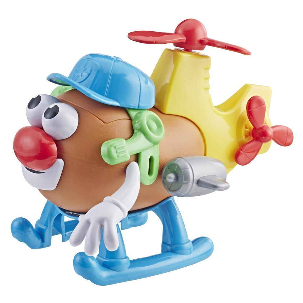 Playskool Mr. Potato Head Mash Mobiles Potato Helicopter Toy Vehicle
