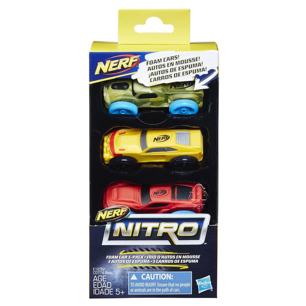 Nerf Nitro Foam Car 3-Pack (Version 7)