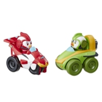 Top Wing Mission Control Racers 2 Pack: Rod and Brody