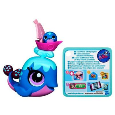 Littlest Pet Shop Whale Pet and Whale Friend