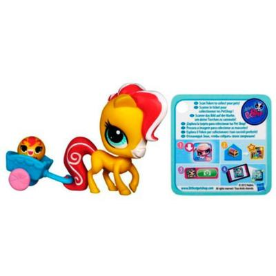 Littlest Pet Shop Horse Pet and Horse Friend