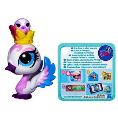 Littlest Pet Shop Swan Pet and Swan Friend