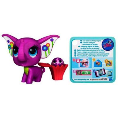 Littlest Pet Shop Elephant Pet and Elephant Friend