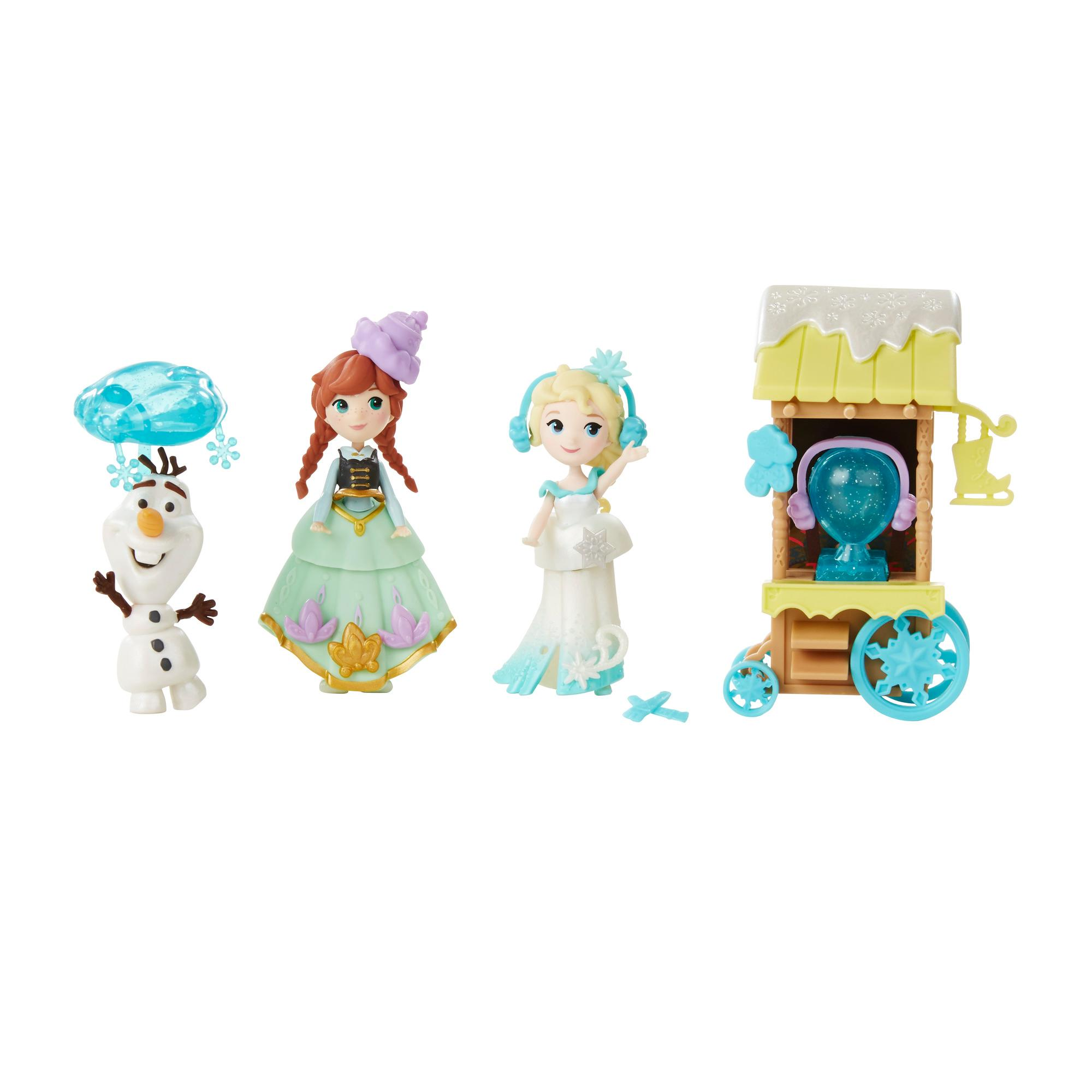 Disney Frozen Little Kingdom Ice Skating Scene Set