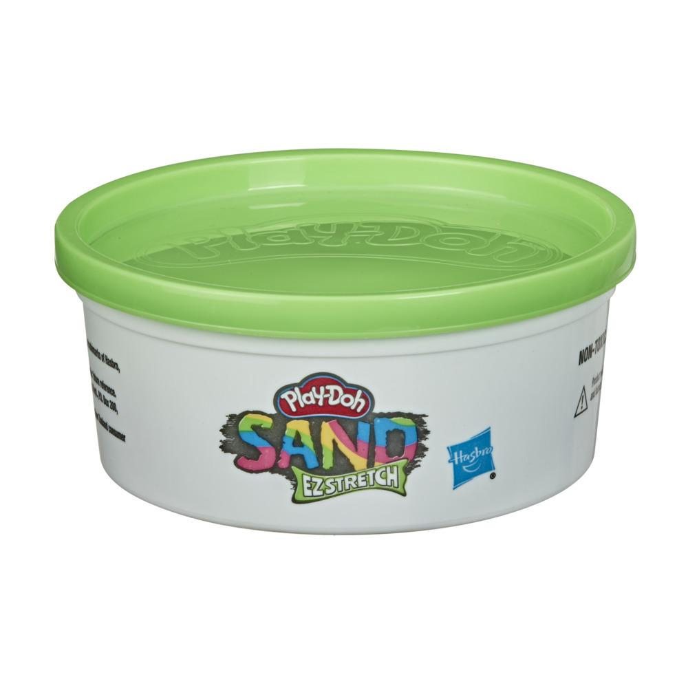 Play-Doh Sand EZ Stretch Single Can of Green Stretchable Activity Sand Compound, 6 Ounces, Non-Toxic