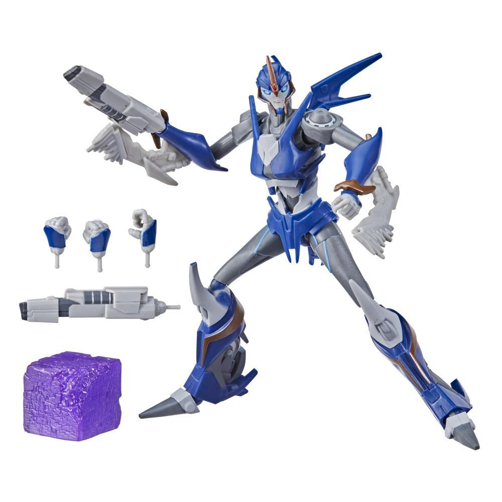 Transformers R.E.D. [Robot Enhanced Design] Transformers Prime Arcee, Non-Converting Figure, 8 and Up, 6-inch