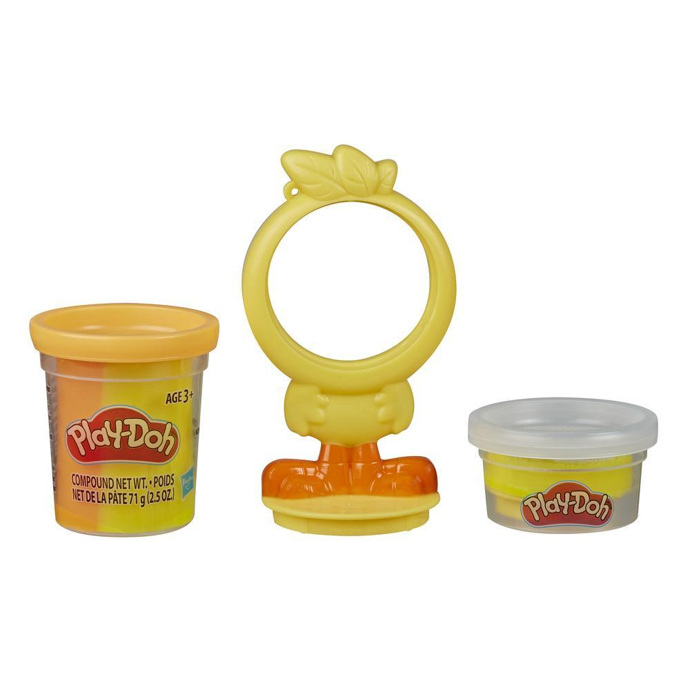 Play-Doh Animal Crew Can Pals Chicken Toy - Non-Toxic Play-Doh Compound Shaped into a Funny Chicken Character