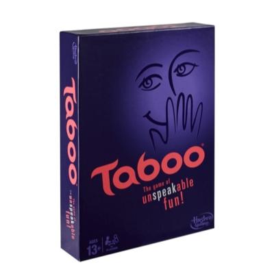 Taboo game squeaker; game changer die