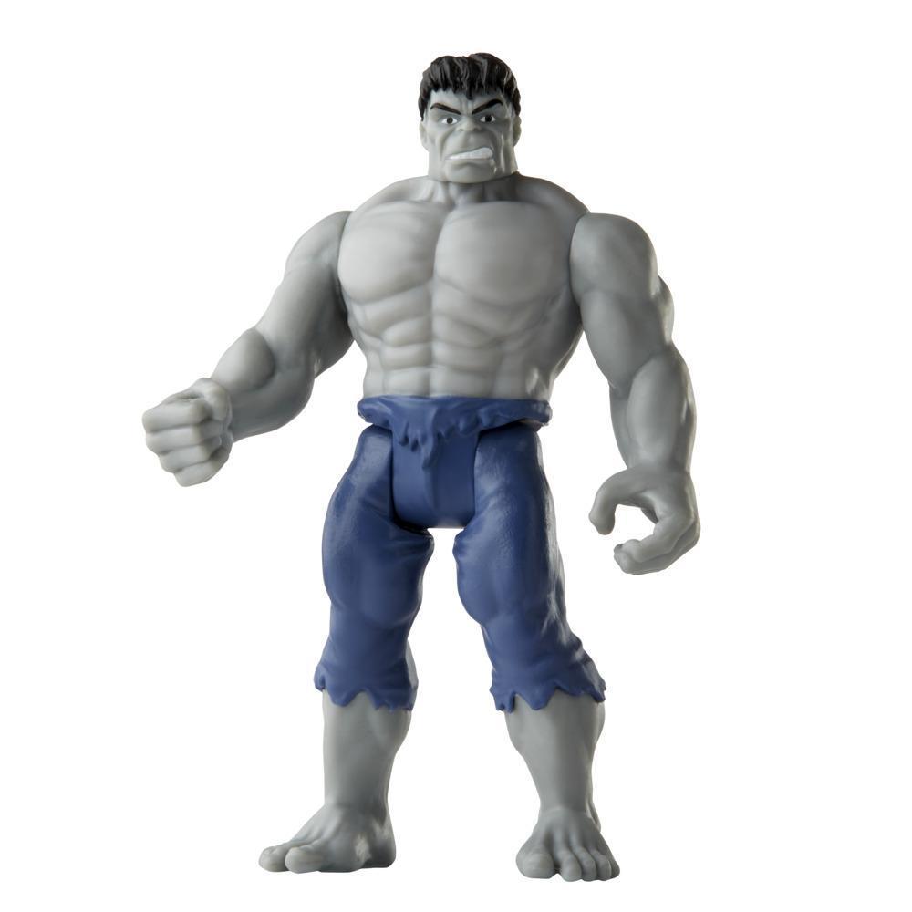 Hasbro Marvel Legends 3.75-inch Retro 375 Collection Grey Hulk Action Figure Toy
