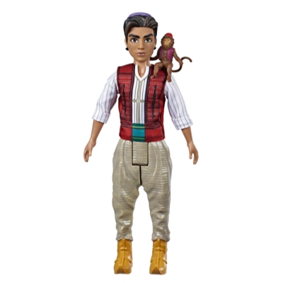 Disney Aladdin Fashion Doll with Abu