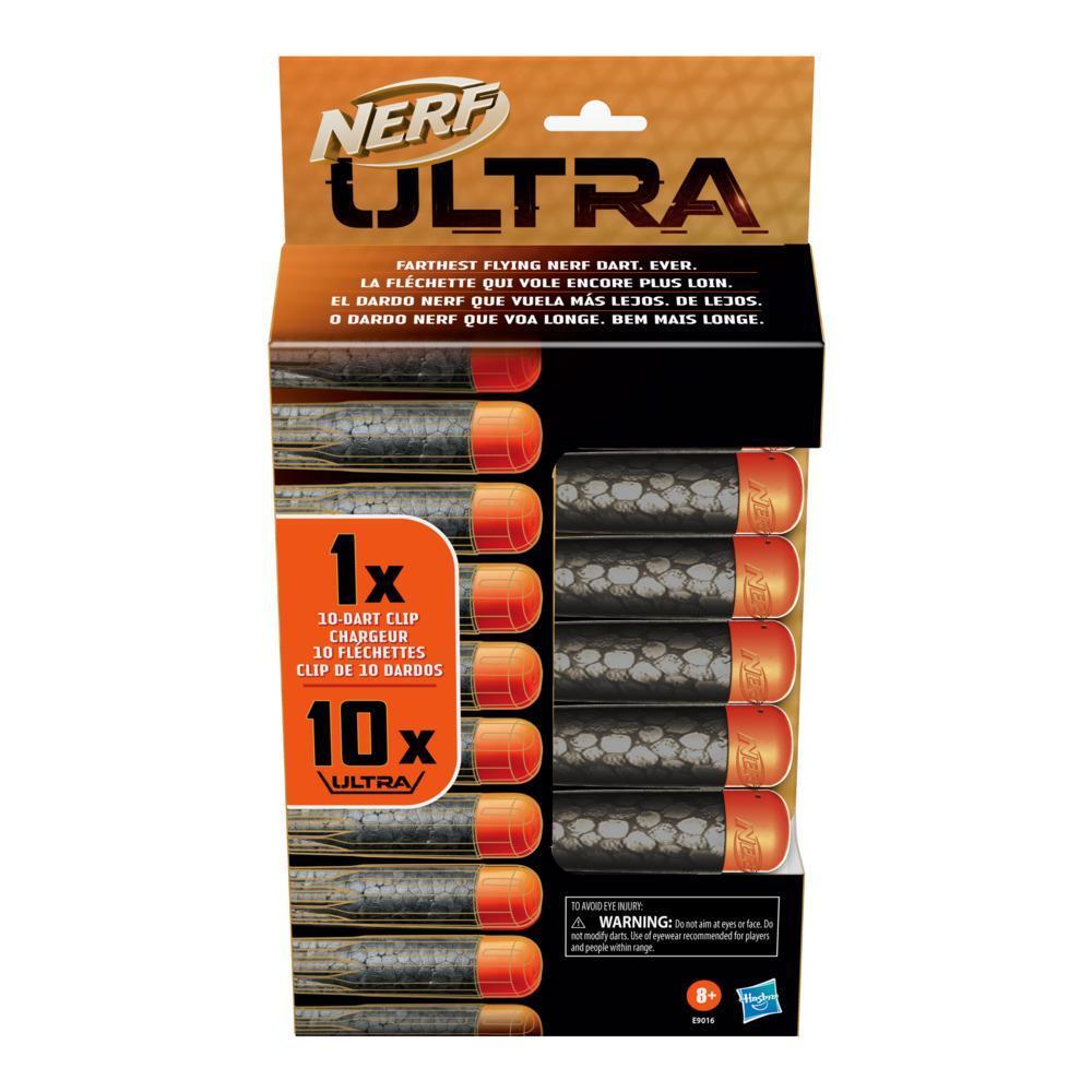 Nerf Ultra Refill -- Nerf Ultra 10-Dart Clip, 10 Official Nerf Ultra Darts -- Compatible Only with Nerf Ultra Blasters