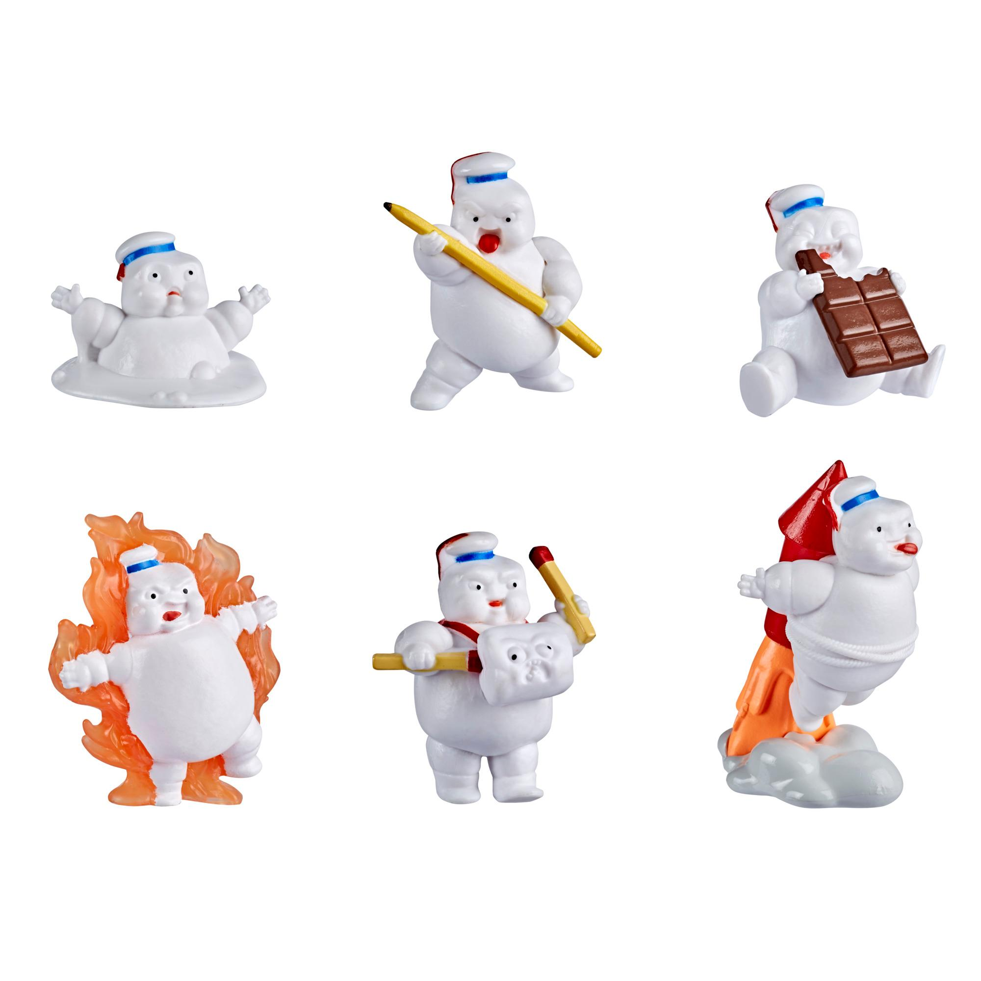 Ghostbusters Stay Puft Products Mini-Puft Surprise, Series 1, Randomly Assorted 1.5-Inch-Scale Figures, Ages 4 and Up