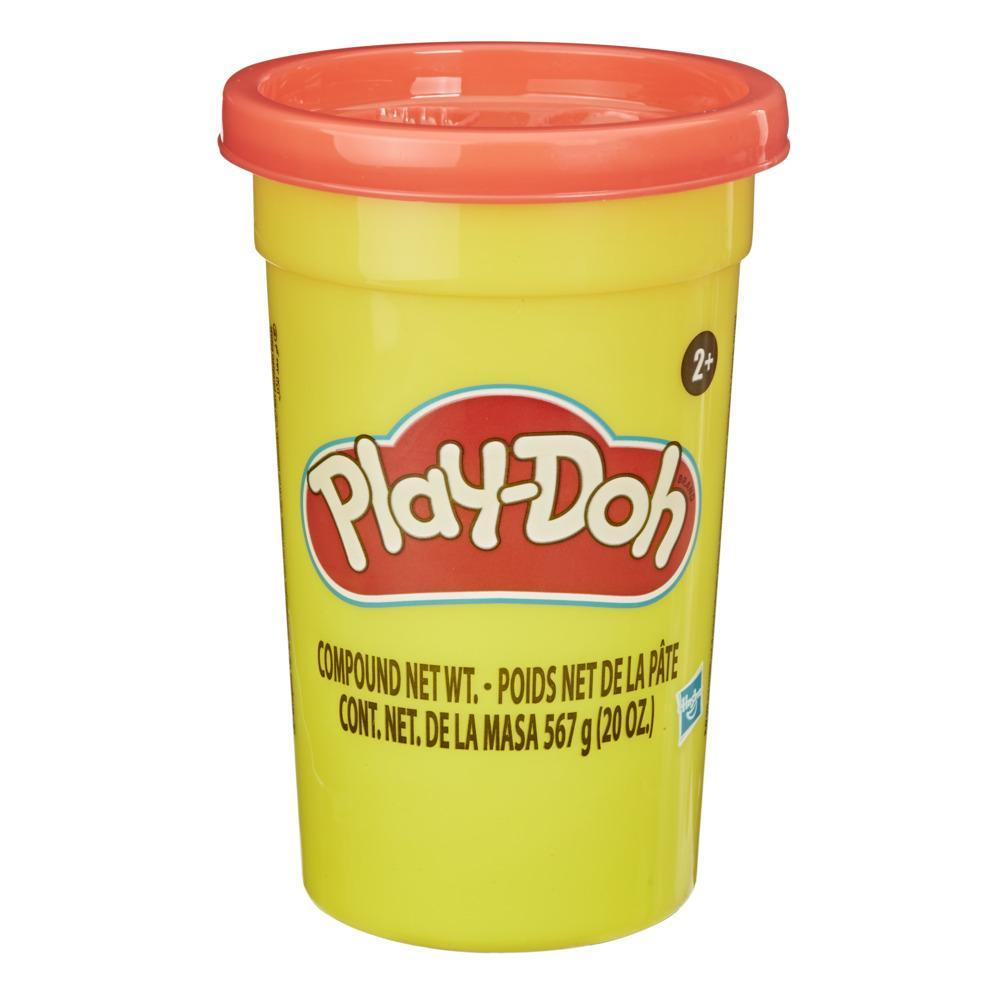 Play-Doh Mighty Can of Red Modeling Compound, 1.25 lb. Bulk Can for Kids 2 Years and Up, Non-Toxic