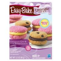 EASY-BAKE Ultimate Oven – Chocolate Chip & Pink Sugar Cookies Mixes