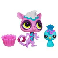 Littlest Pet Shop Sweetest Lemur and Peacock 2-Pack